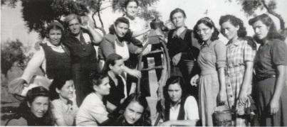 BeneathTheOliveTree-Angry women, group