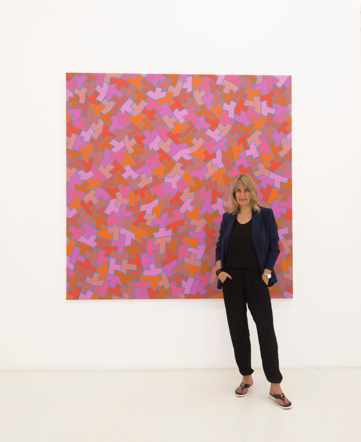 A WOMAN GALLERIST MAKING BOLD MOVES