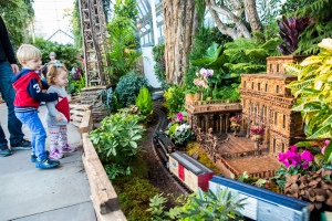 Nybg 25th anniversary holiday train show state of the Brooklyn botanical garden train show