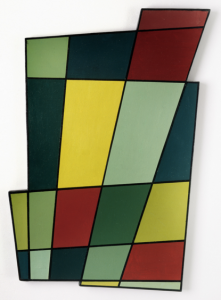 Juan Melé, Irregular Frame No. 2, 1946. Oil on plywood. 71.1 x 50.2 x 2.5 cm. Colección Patricia Phelps de Cisneros. © Estate of Juan Melé.