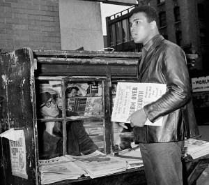 March 8, 1967: Muhammad Ali trains in New York City for his March 22, 1967 fight vs. Zora Folley.