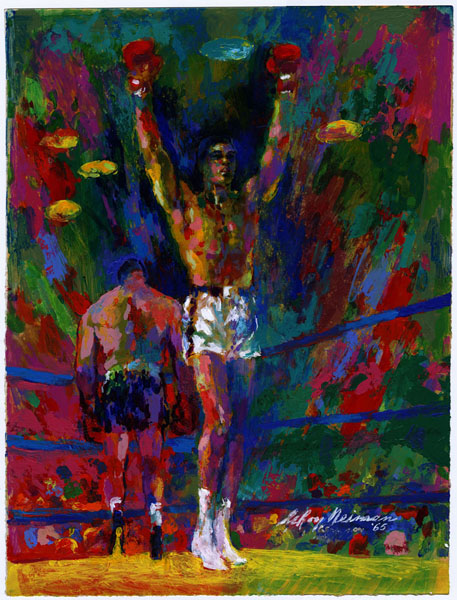 ART AND BOXING — TRIBUTE TO MUHAMMED ALI & LEROY NEIMAN