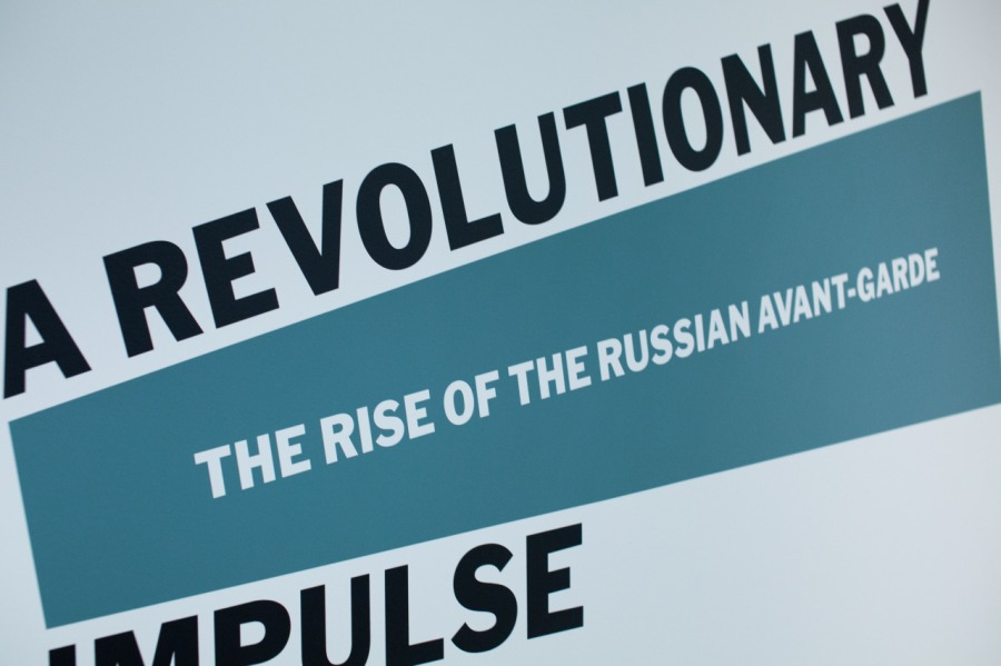 A REVOLUTIONARY IMPULSE & THE RISE OF RUSSIAN AVANTE GARDE AT MOMA