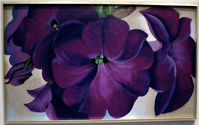 GEORGIA O'KEEFFE AT BROOKLYN MUSEUM